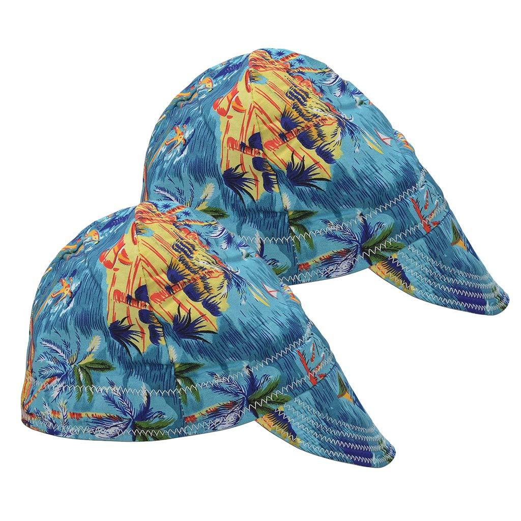 Baosity 2Pcs Welding Protective Hat Woman Adults 5 popular Limited price sale W Men Universal