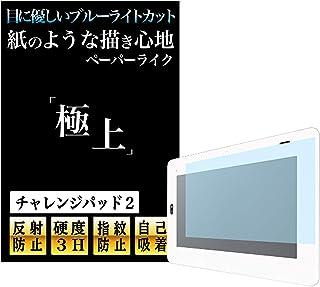 【チャレンジパッド2(小学生向け・中学1年生向け)】極上 ブルーライトカット ペーパーライク 保護フィルム アンチグレア 反射防止 紙のような描き心地 日本製 Agrado