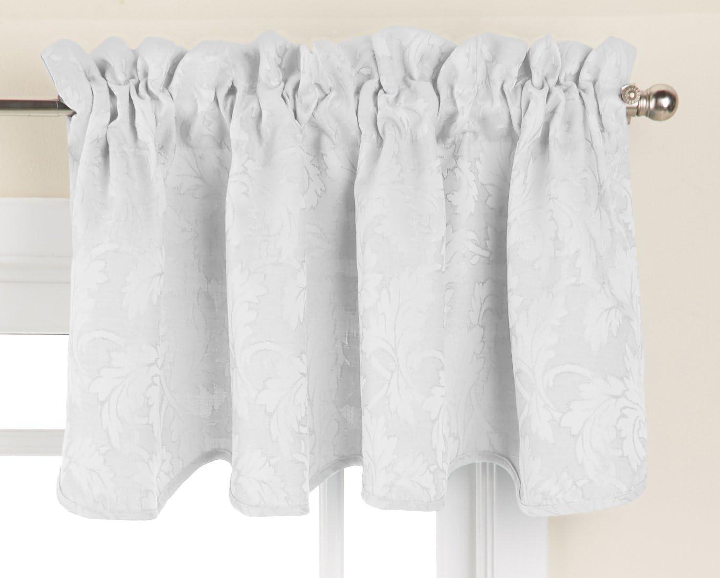 LORRAINE HOME FASHIONS Flora Window Curtain Valance, 52