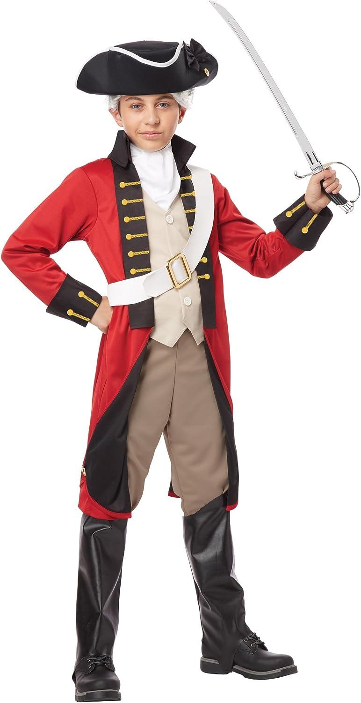 Boys British Redcoat Costume Large (1012)