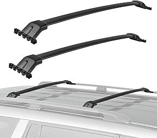 MOSTPLUS Roof Rack Cross Bar Rail for Honda Pilot 2009-2015 Cargo Racks Rooftop Luggage Canoe Kayak Carrier Rack