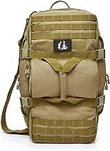 BCXS Militär-Rucksack mit digitalem Camouflage-Muster, Segeltuch, Wander-Rucksack, chinesische Schriftzeichen, Dekoration, geeignet für Outdoor-Überlebenstraining, style1