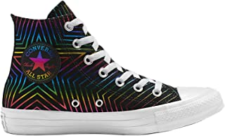 Converse Youth Chuck Taylor All Star Exploding Star HI Textile Trainers