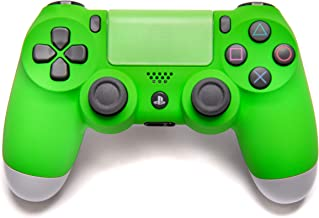 green ps4 controller skin