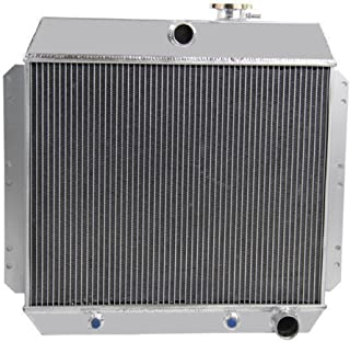 OzCoolingParts 4 Row Core Aluminum Radiator for 1949-1954 Chevy Bel Air, Sedan Delivery, Styleline Deluxe, Fleetline, L6