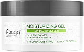 Raaga Professional Moisturizing Gel, With Cinnamon Extract, For Shine-Free Look, Normal to Oily Skin, 50 g