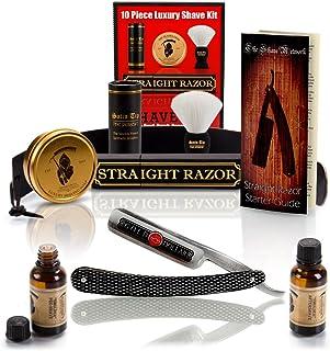 ~Shave Ready~ 10 Piece Set Shaving Straight Razor 6/8