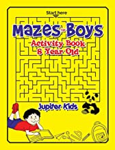 Mazes for Boys: Activity Book 8 Year Old