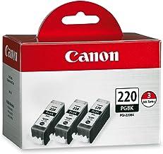 Canon PGI-220 Black Triple Pack Compatible to MP980, MP560, MP620, MP640, MP990, MX860, MX870, iP4600, iP3600, iP4700