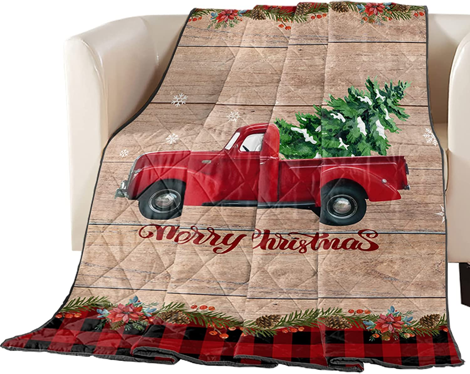 Premium Max 41% OFF Coverlet Diamond Free shipping on posting reviews Stitched Quilted an Farm 90x102in Truck