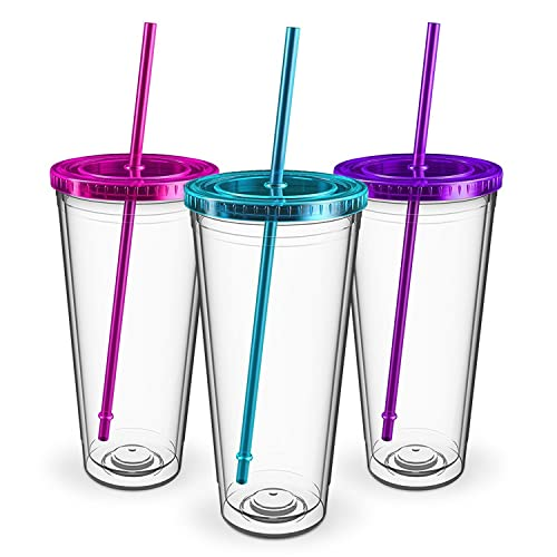 addd06f1a5f Maars Insulated Travel Tumblers 32 oz. | Double Wall Acrylic | 3 Pack