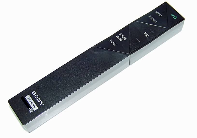 OEM Sony Remote Control Originally Shipped With: EZWRT50, EZW-RT50, SAST7, SA-ST7, HTST7, HT-ST7