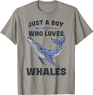 blue whale t shirt