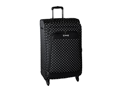 Kenneth Cole Reaction Dot Matrix Collection 28 4-Wheel Upright (Black/White Dots) Luggage