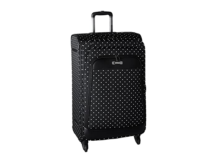 Kenneth Cole Reaction  Dot Matrix Collection - 28 4-Wheel Upright (Black/White Dots) Luggage