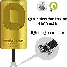 QI Receiver for IPhone 5-5c- SE- 6-6 Plus- 7-7 Plus- YTech IPhone Wireless Receiver- QI Receiver- Charging Receiver - QI Wireless Receiver IPhone- QI Receiver