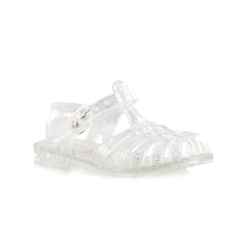 ba318b7a2e7a9c Chockers Shoes Kids Baby Babies Childrens Toddler Infant Girls Cute Retro  Jelly Summer Beach Holiday White