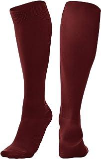 Champro Sports Pro Socks, Maroon, Large