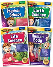 ROCK N LEARN Science DVD Collection: Earth Science, Physical Science, Life Science, Human Body