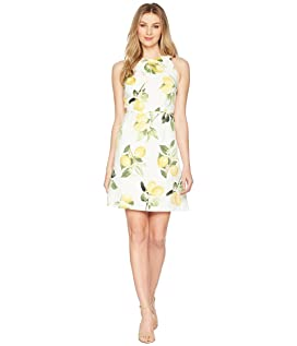 Fresh Lemon A-Line Dress