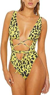 Sovoyontee Women`s Sexy One Piece Swimsuits Bikini Bathing Suit
