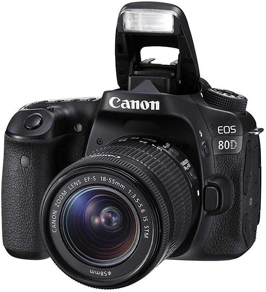 San Diego OFFicial shop Mall Canon EOS 80D Digital SLR Kit with is 18-55mm f EF-S STM 3.5-5.6