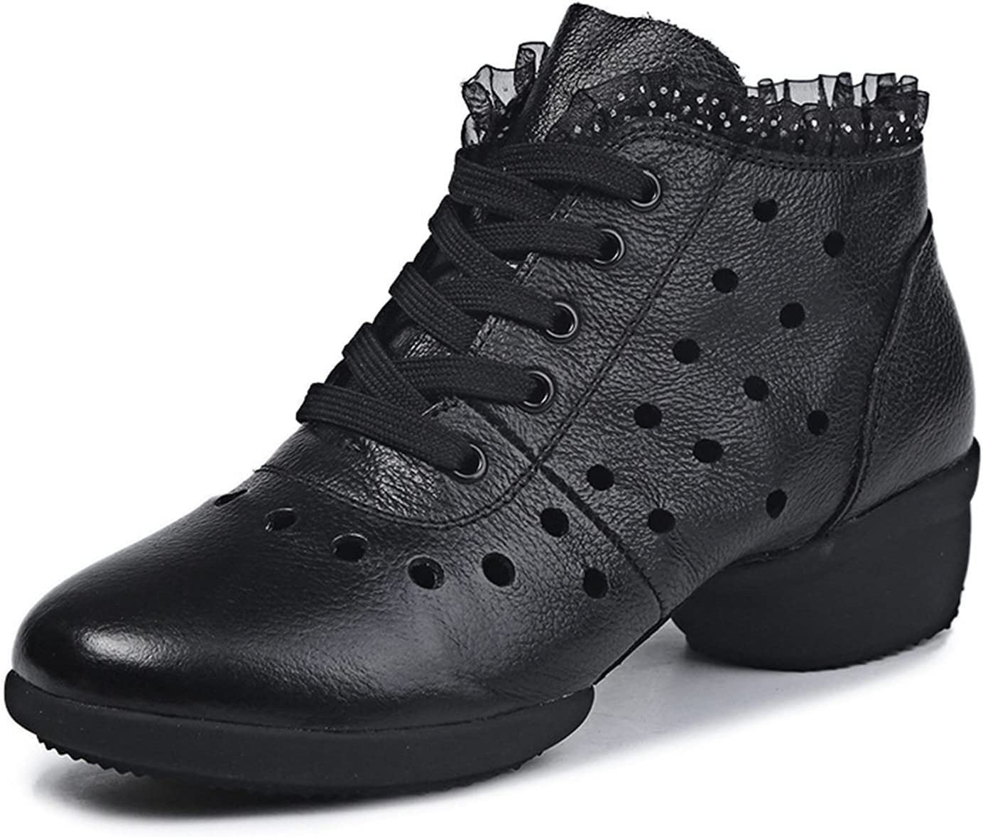 MYYU Walking Dance Shoes Jazz Shoes Sneakers Breathable Air Cush
