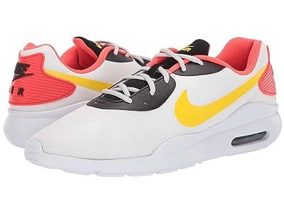 Nike Air Max Oketo (White/Chrome Yellow/Bright Crimson) Men