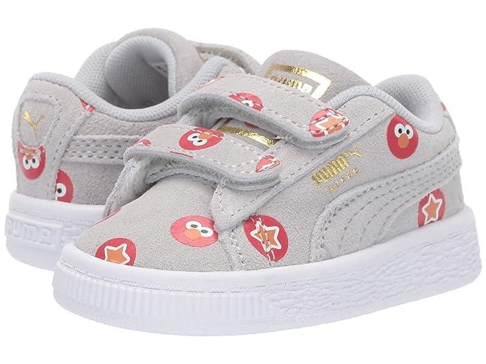 Puma Kids Sesame Street 50 Suede Badge (Toddler) | 6pm