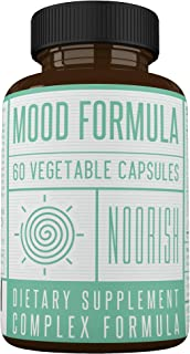 Mood Enhancer - Mood Stabilizer - Mood Support Supplement with Ashwagandha, GABA, 5-HTP, Chamomile, and St. John's Wort. Anxiety and Stress Supplement.