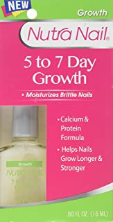 Nutra Nail 5 To 7 Day Nail Growth Care With Calcium (Value Pack of 5)