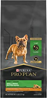 Purina Pro Plan With Probiotics, Weight Control Small Breed Dry Dog Food, Shredded Blend Chicken & Rice Formula - 6 lb. Bag