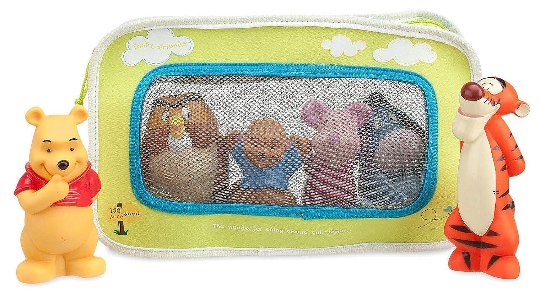 【Disney】 Disney baby ディズニーベビー くまのプーさんと仲間たち バストイセット Winnie the Pooh and Pals Bath Toy Set for Baby  【赤ちゃんのおもちゃ?お風呂のおもちゃ】