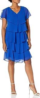 اس.ال فستان نسائي من Fashion (مقاسات صغيرة وعادية)