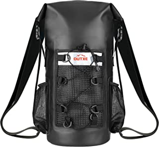 OUTXE 100% Waterproof Dry Bag Backpack 20L/ 10L / 5L Totally Sealed PVC-Free