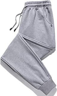Sponsored Ad - Chrisuno Men's Athletic Joggers Sweatpants Casual Elastic Waist Pants for Workout Running with Pockets