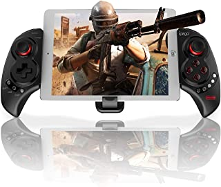 Wireless iOS Android Game Controller for PUBG Fotnite, Megadream Key Mapping Gamepad Joystick for iPhone, iPad, Samsung, HTC, Google Pixel and More, Support 10 inch Tablet