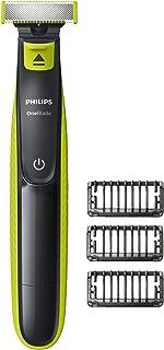 Philips Qp2520/20 One Blade Tıraş Makinesi, Sakal Kesici (Yıkanabilir, Nimh Teknolojisi) Açık Yeşil-Koyu Gri