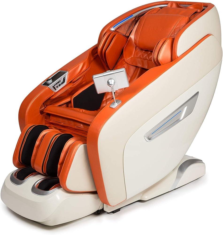 Daruma® poltrona massaggiante 3d,12 programmi di massaggio,termoterapia,pressoterapia 2021
