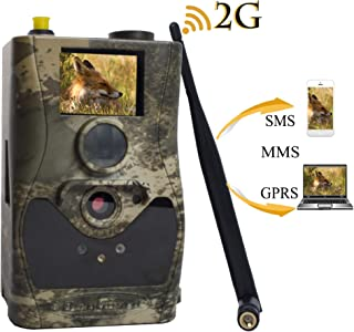 BolyGuard 2G Trail Game Camera SMS MMS GPRS 18MP 1080P HD Infrared Cam with Night Vision Motion Activated Hunting for Outdoor and Home Security Surveillance IP65 Waterproof