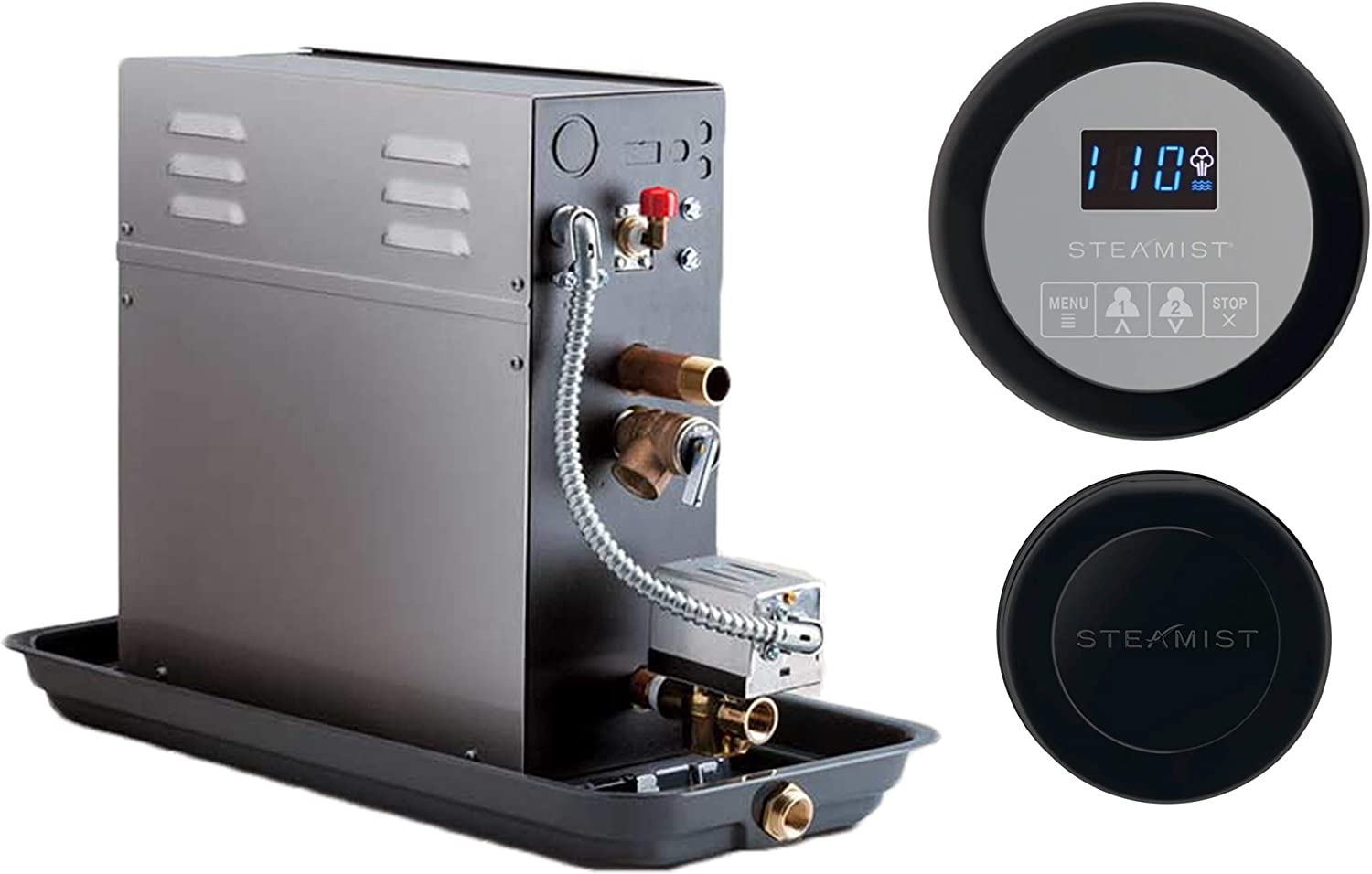 20 KW Ranking TOP12 Steam Bath Generator Steamist SMP-20 Over item handling ☆ with Digital 250 Time