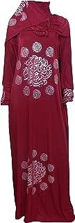 Muslim Islam Prayer Kaftan Dress Galabeya Isdal Kaftan Gilbab Abaya Hijab 363