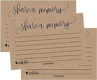memorial keepsake cards