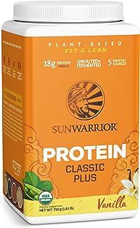 Sunwarrior Organic Classic Plus Vanilla Protein Powder 750 g, Vanilla 750 grams