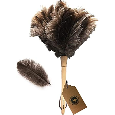 14 , Black Mini Duster MG04 GM Royal Ostrich Feather Duster