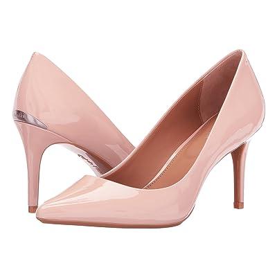 Calvin Klein Gayle Pump (Sheer Satin Patent) High Heels