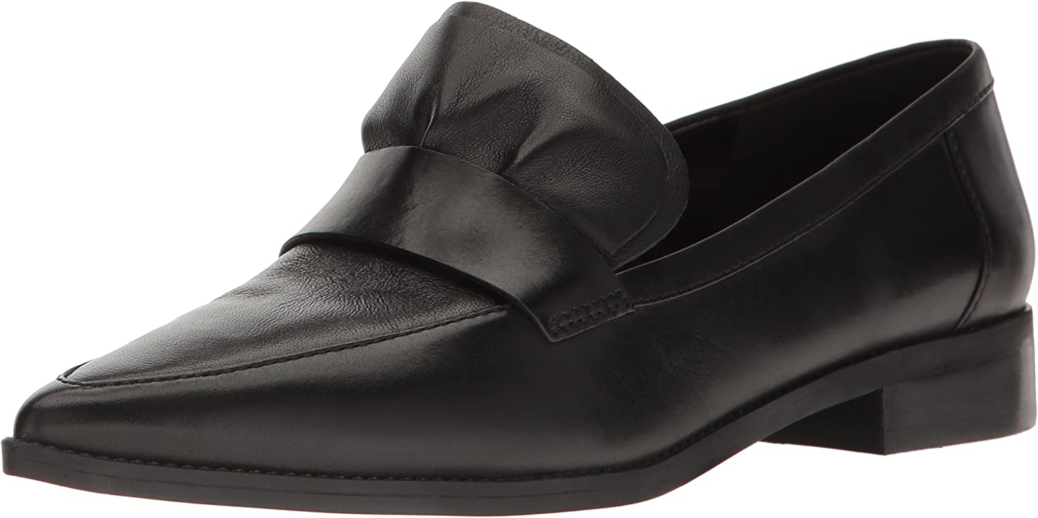 Nine West Womens Strong Leather Pointed Toe Flat