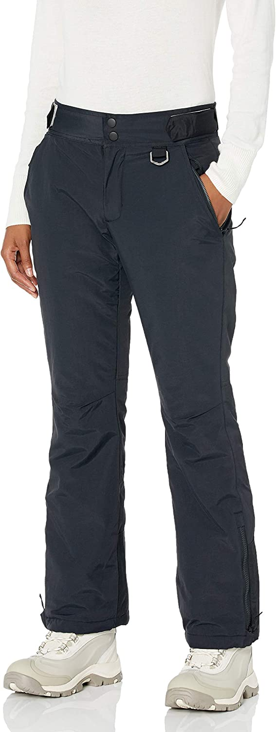 Amazon Essentials Women's Water Resistant Full Length Insulated Snow Pants