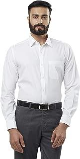 Raymond White Regular Fit Cotton Shirt