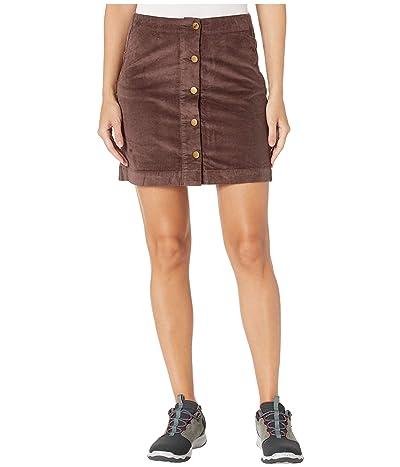 Toad&Co Cruiser Cord Skirt (Raisin) Women